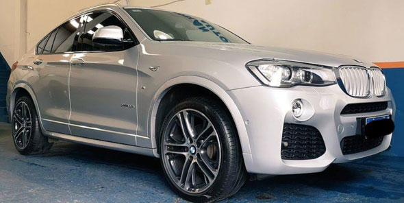 BMW X4 35i M Package 2018