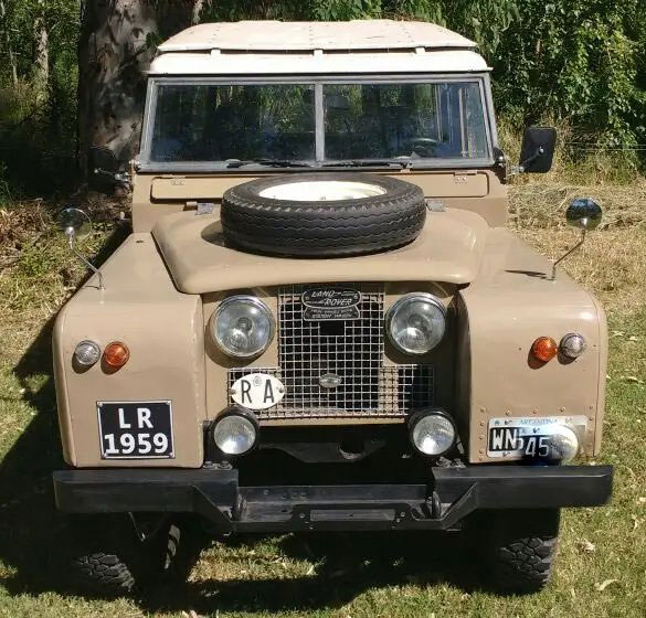 Land Rover Serie II 1959