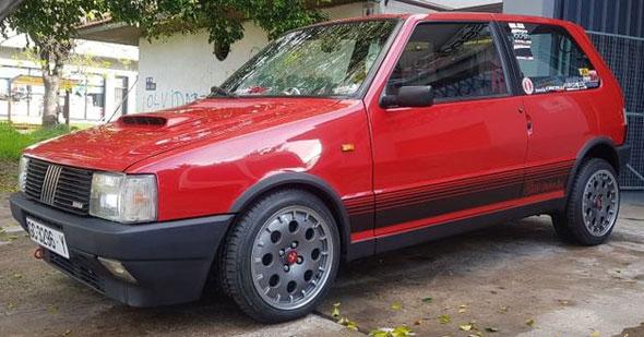 Fiat Uno Turbo 1.3I.E MK1 1986