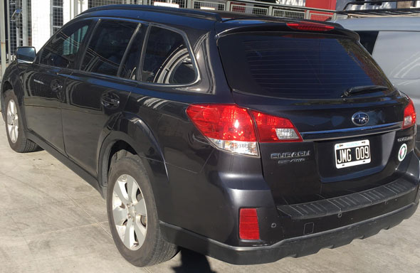 Subaru Outback 2.5 AWD Limited Blindado RB3