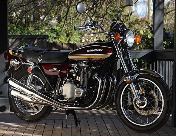 Kawasaki Z750 Z2 1975
