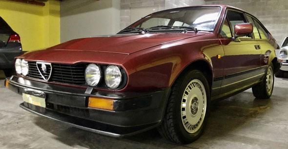 Alfa Romeo GTV 6 2.5  1986
