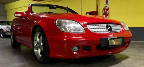 Mercedes Benz SLK 320 V6 2001