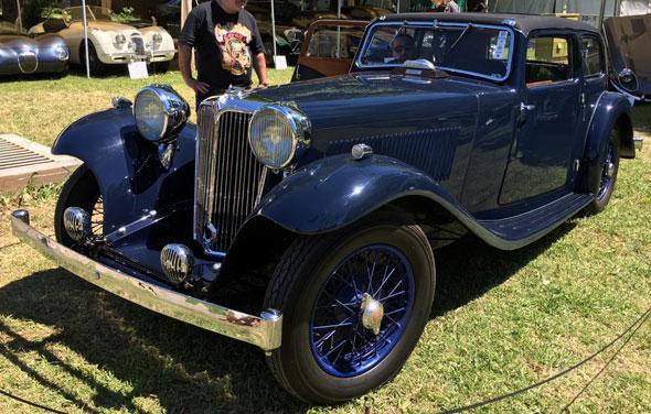 Jaguar SS1 Tourer Four Lights 1936