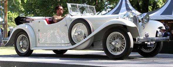 Jaguar SS1 Rally Des Alpes 1936