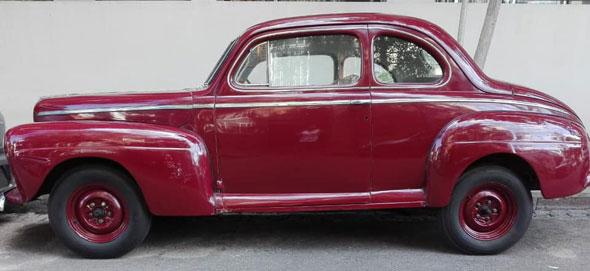 Ford Coup'e V8 1942