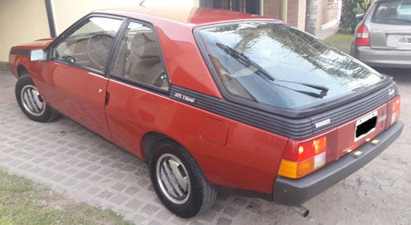 Renault Fuego GTX 2.0