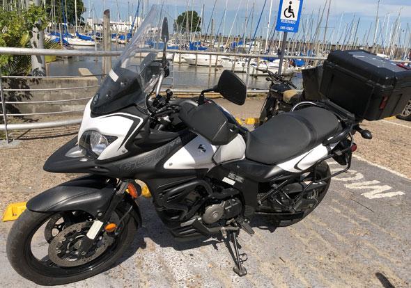 Suzuki Vstrom DL650 XA