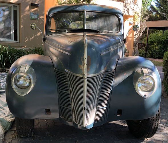 Ford 1940 40 deluxe