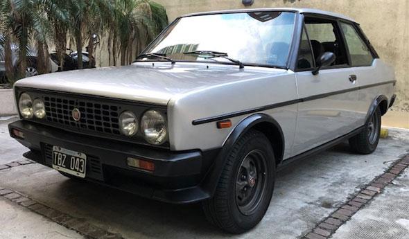Fiat 131 Racing 1981