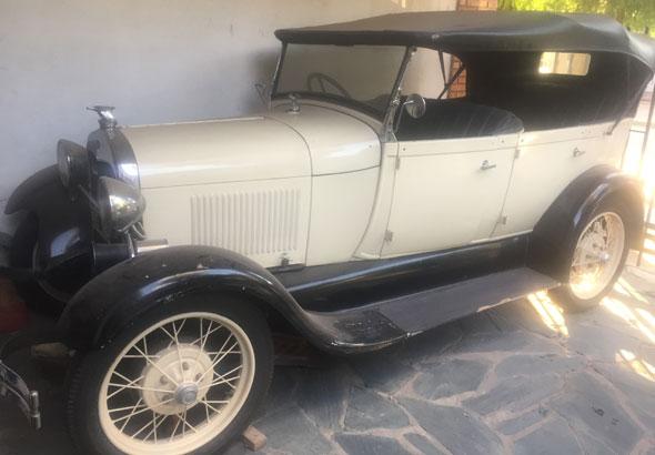 Ford A 1929 Doble Phaeton Cabrio