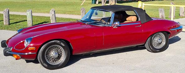 Jaguar E-Type Serie 3 V12 Roadster 1973