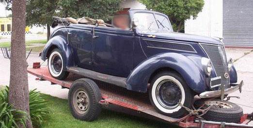 Ford Doble phaeton 1937