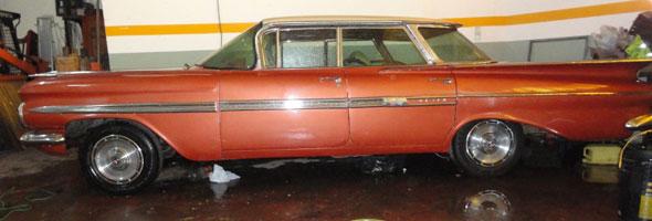 Chevrolet Impala 1959 Hard Top Sin Parantes
