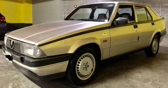 Alfa Romeo 75 2.5 V6 1987