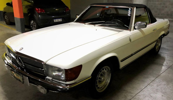 Mercedes Benz 280 SL 1977
