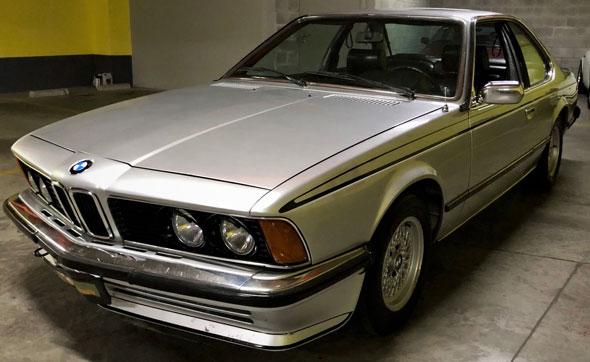 BMW 635 CSI 1980