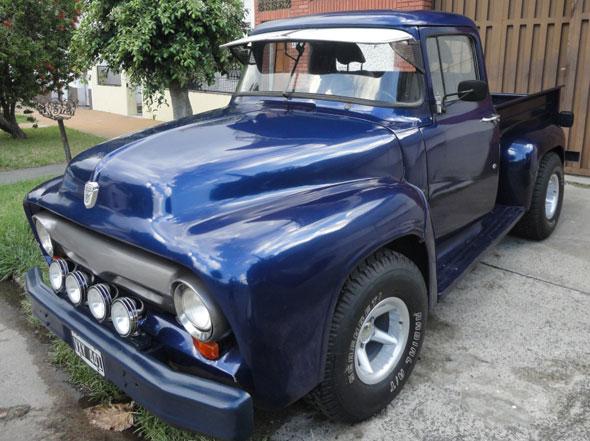 Ford 1956 Pick Up Big Job