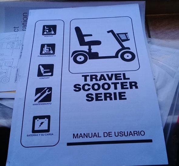 Travel Scooter Serie Eléctrico