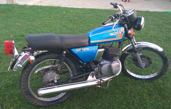 Suzuki GP 125 1981
