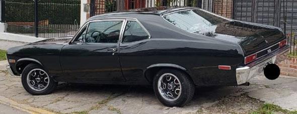 Chevrolet Chevy Coupé SS