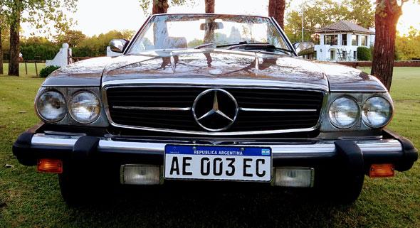 Mercedes Benz 380 SL (R107)