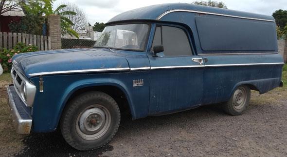 Dodge D100 Furgón 1966