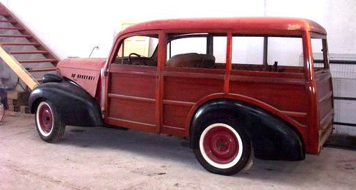 Chevrolet Woody Wagon 1939