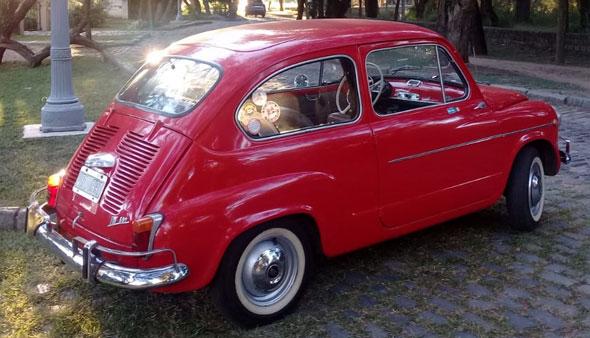Fiat 600 1964 Puerta Suicida