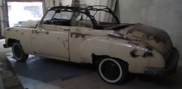 Chevrolet 1950 Convertible