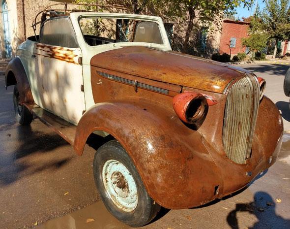 Plymouth 1938 Coupé Convertible