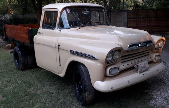 Chevrolet Apache Viking Bifaro 1959 Americana