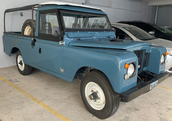 """Land Rover Serie 2A Late 109"""" 1970"""