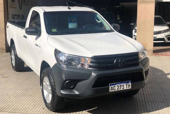 Toyota Hilux 2.4 CS DX 150cv 4x4 2017