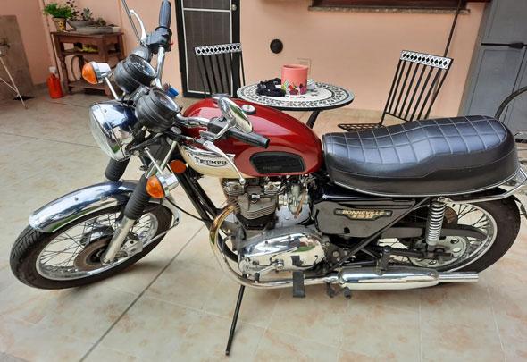 Triumph 1979 Bonneville