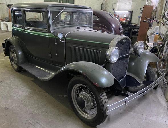 Ford A Victoria 1931