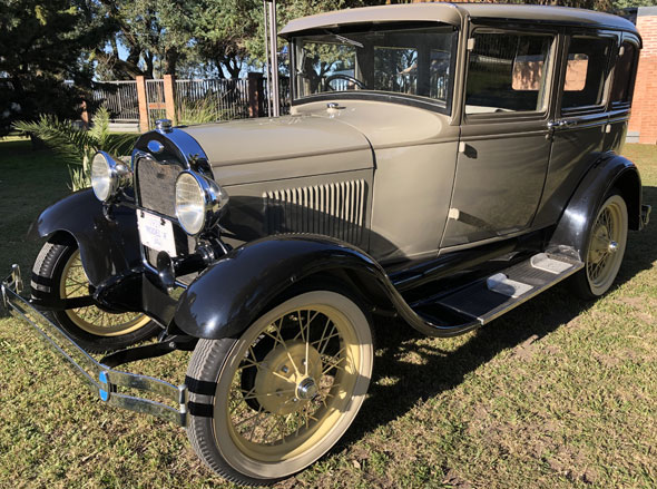 Ford A Seis Ventanas 1929