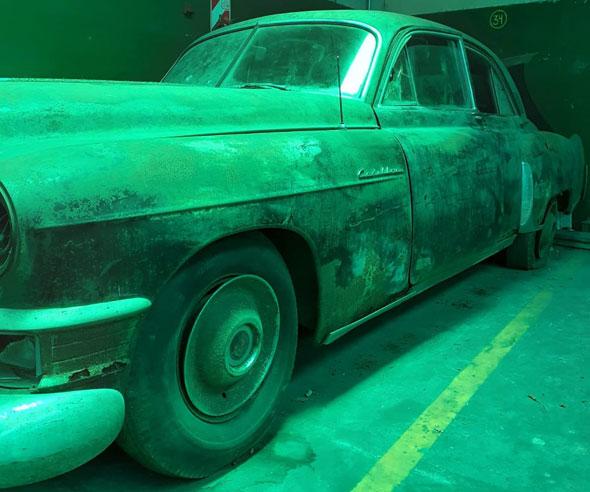 Cadillac fleetwood 1949