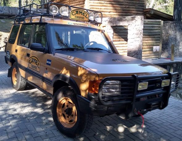 Land Rover Discovery Camel
