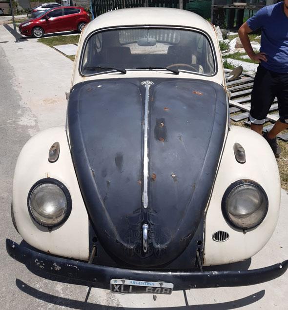 Volkswagen Escarbajo 1958