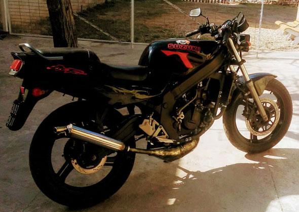 Suzuki RG 150 Gamma 2