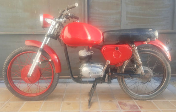 Puma 5ta. Serie 125