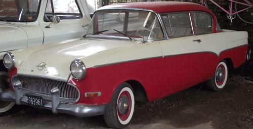 Car Opel Olympia 1958