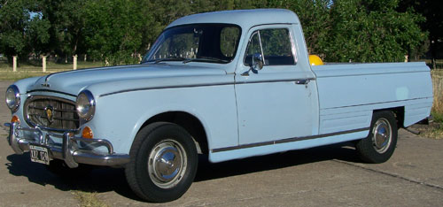 Car Peugeot T4B