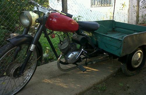 Motorcycle Puma Motocargo