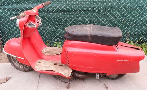 Motorcycle NSU Prima 5 Estrellas