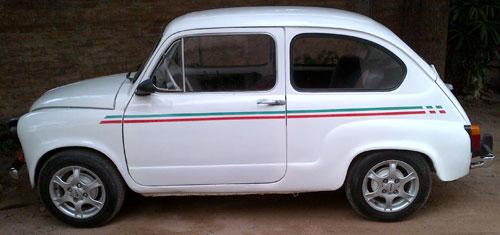 Car Fiat 600S
