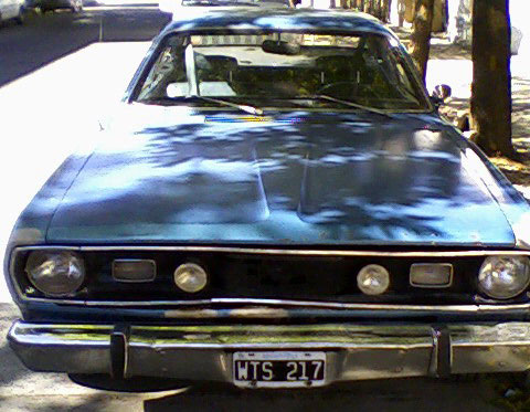 Car Plymouth Duster
