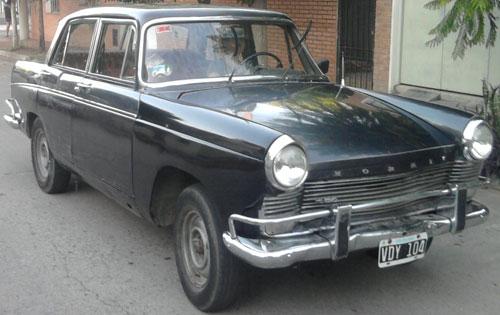 Car Morris 1650