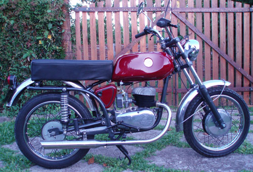 Motorcycle Zanella 125